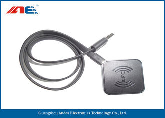 USB Interface RFID Chip Reader Writer , ICODE ILT Passive RFID Tag Readers