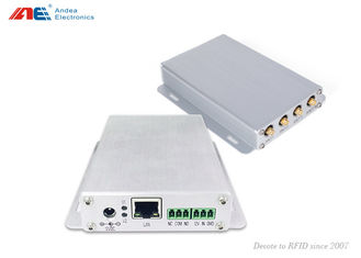 4 Antenna channel ISO18000-3M1 Mid Range RFID Reader with Adjustable RF Power